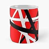 Roth Hell David Guitar Like Lee Music Evh Wolfgang Halen Van Eddie Run I DatmonA - Best 11 oz Coffee Mug holds hand made from White marble ceramic