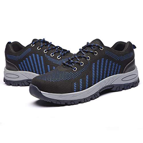 Calzado de protección Zapatos de seguridad protectores anti-aplastamiento, anti-piercing, zapatos de seguridad antideslizantes, zapatos de seguridad para hombres zapatos de trabajo de mujer gorras de