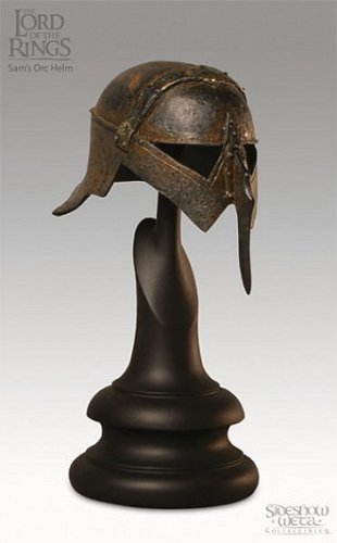 Sam Orc's 1/4 Scale Helm from Lord of the Rings