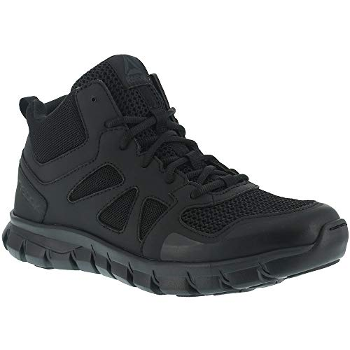 Reebok Women's Sublite Cushion Tactical RB805 Military & Tactical Boot, Black, 9.5 W US