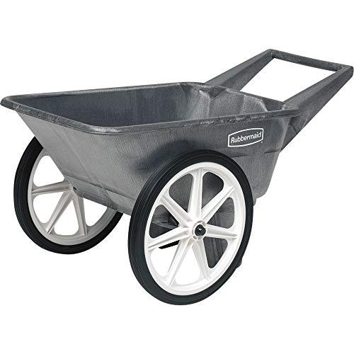 Rubbermaid Poly Farm Cart 200 Lbs. Max 3-1/2 Cu Ft 20' X 1.75'