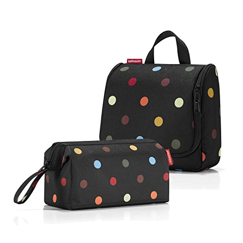 * * Besondere Set * * Reisenthel wc7009 Kosmetiktasche Travelcosmetic & WH7009 Toiletbag - Dots