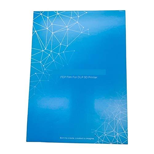 WNJ-TOOL, SLA 3d Printer Filamen FEP Film 140x200mm Fep Sheets 0.15-0.2mm For ANYCUBIC Photon Resin UV Light 3D Printers Impresora (Size : 8pcs)