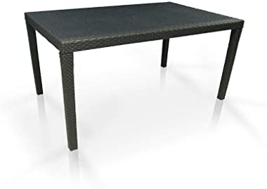 Table Queeen Résine, Anthracite