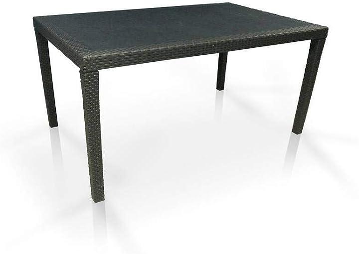 ipae-progarden s.p.a. ipae-progarden tavolo da giardino allungabile in polipropilene - modello queen 8009271014725