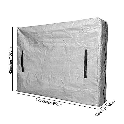 lennonsi Matratzentasche Matratzenbezug für bewegliche Lagerung Matratzenhülle zur Lagerung und für Umzüge Wasserdichter Matratzenbezug mit Reißverschluss