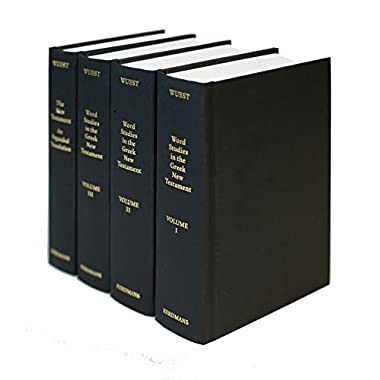 Word Studies from the Greek New Testament (4 volume set)