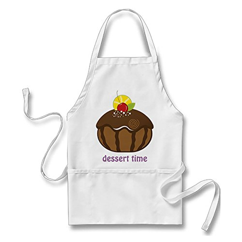 Starings Kitchen Apron Happy Sweet Hanukkah Apron for Men Women with Pockets, White