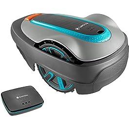 GARDENA smart SILENO city 300 | Tondeuse Robot Connectée jusqu'à 300m² – Contrôle à distance via application, Tond sous…
