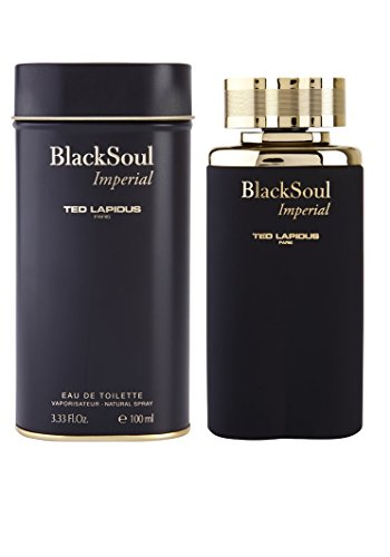Ted Lapidus Black Soul Imperial Men Eau De Toilette Spray, 3.33 Ounce
