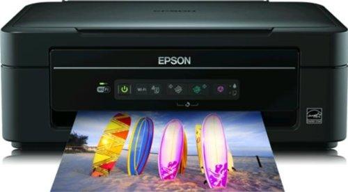 Epson Stylus SX235W Imprimante Multifonctions Jet d'encre Couleur 3-en-1 Wifi USB Noir