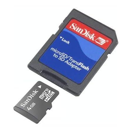 Sandisk Microsdhc 4gb Sd Adapter 4 Computer Zubehör