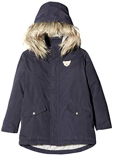 Steiff Jungen Jacket Jacke, Grau (BLACK IRIS 3032), 98 (Herstellergröße:98)