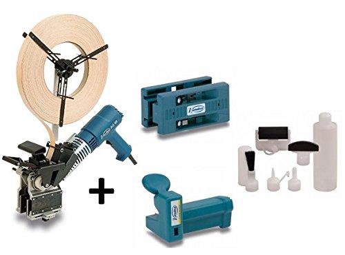 Virutex Aplacadora de cantos pre-encolados AG98R + Perfilador AU93 + Retestador RC21E + SEM1 Set encolador manual