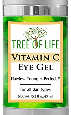 Vitamin C Eye Moisturizer Gel for Face and Skin (.5 Ounce) from Tree Of Life Beauty