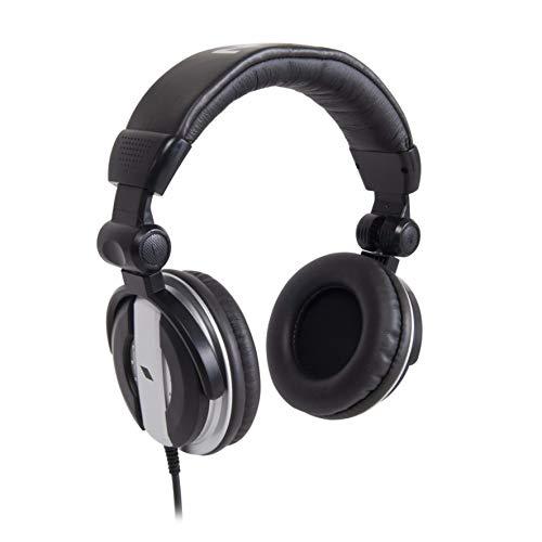 Proel EIKON HFJ700 - Cuffia Professionale per DJ, confortevole ed adatta per lunghe sessioni di lavoro, Nero