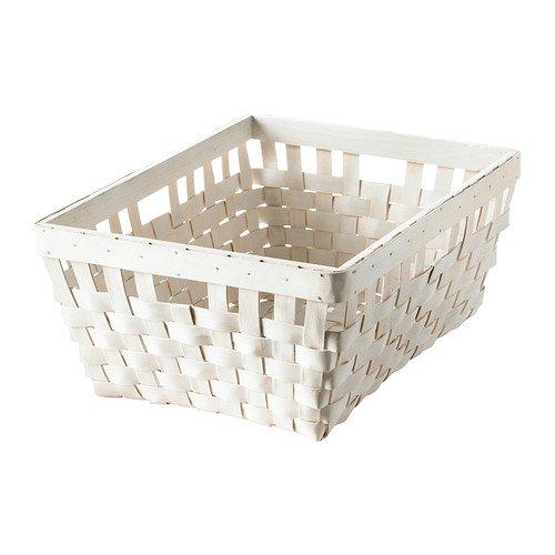 IKEA KNARRA–Korb, Weiß