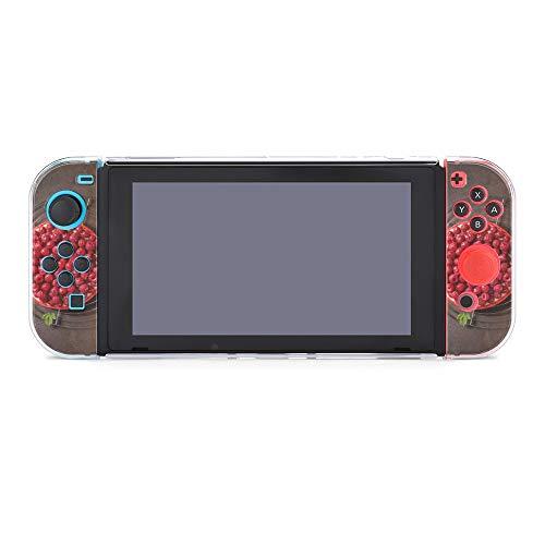 Schutzhülle für Nintendo Switch, Lebensmittel-Süßigkeiten, Beeren, Obstkuchen, langlebige Schutzhülle für Nintendo Switch und Joy Con