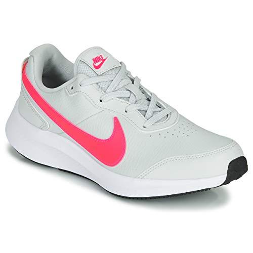 Nike Varsity Leather (Gs) - Photon dust/Hyper pink-White, Größe:5Y