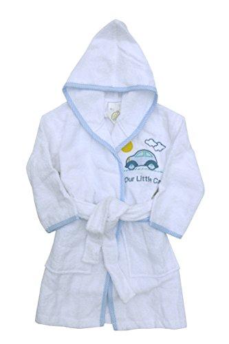 N / A Kinder Bademantel Auto Gr. 80 Baumwolle Junge Kleinkind Bekleidung schwimmen Bad