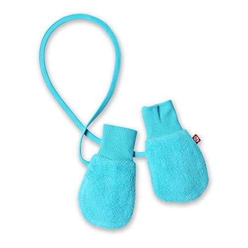 Zutano Unisex Baby Cozie Lined Mitten (Baby) - Pool - One Size