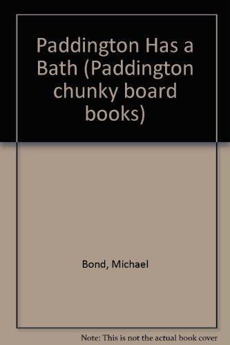 Paddington Has A Bath