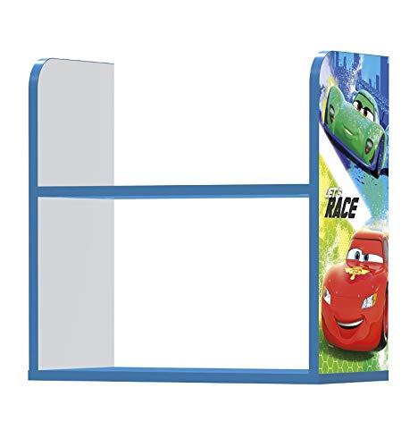 Stor - Estantería Infantil Charm | CARS RACERS - RAYO MCQUEEN | Disney - Dimensiones: 50 x 50 x 25 cm. - Varios Personajes