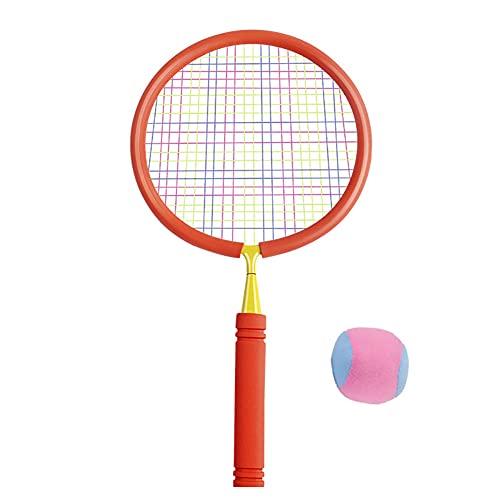 FENGXU Racchette da Badminton per Bambini e Adulti Set Pallina e Tennis in Nylon Leggero per Bambini Principiante Indoor Outdoor Cortili Prato Sport da Spiaggia Gioco con Borsa per Il Trasporto