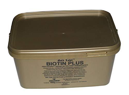 Biotin Plus, Gold Label, Horse Supplement, Hoof Conditioner, 900 Gm