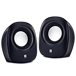 iBall Sound Wave2 – Multimedia 2.0 Stereo Speakers, Black,iBall,Soundwave 2,2.0 speaker system,iBall speaker,iBall speaker wired,iBall speakers 2.0,portable speakers,speaker iBall Soundwave 2,usb speaker