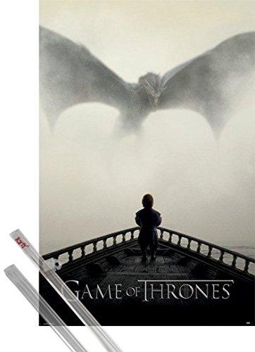 1art1® Póster + Soporte: Juego De Tronos Póster (91x61 cm) Tyrion L