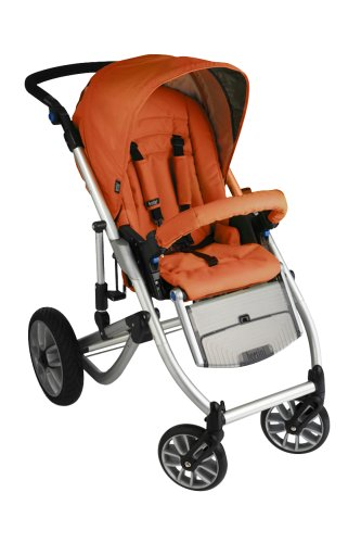 Bertini 6005 - Buggy X6 Trek & Gliding Seat, Farbe Tangerine