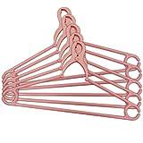 ネオクリップハンガー 5本組 ピンク