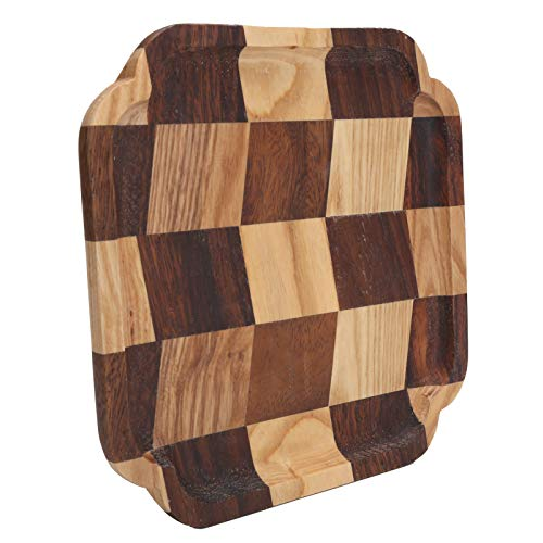 Holz Tablett Osmanische Tabletts, Holz Serviertabletts, Salatbrot Servierteller Pfanne Tee(#2)