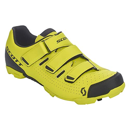 Scott MTB Comp RS 2021 - Zapatillas de ciclismo, color amarillo y negro, Hombre, amarillo, 43 EU