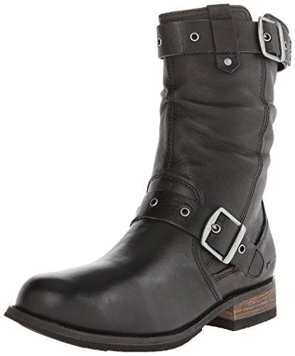 Caterpillar Women's Midi Engineer Boot, Black, 7 M US
