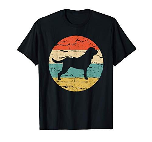 おかしいブラッドハウンド犬ママパパヴィンテージレトロ Tシャツ