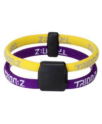Trionz Bracelet Small Purple/Yellow Magnetic TRION:Z