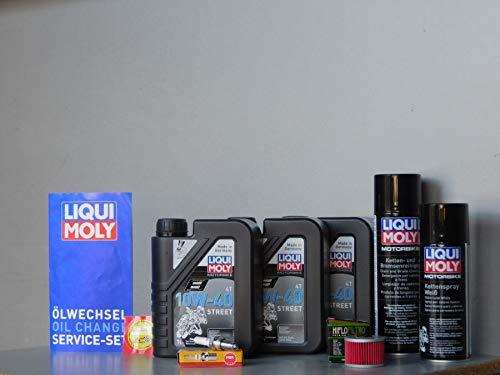 MotorFunSports - Juego de mantenimiento para Honda SLR 650, bujía, aceite, servicio, mantenimiento, inspección