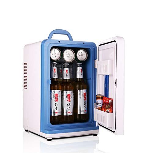 Refrigerador portable eléctrica Refrigerador de 12 litros enfriador compacto mini refrigerador for los coches, Viajes por carretera, hogares, oficinas y dormitorios for viajes, picnic, camping Refrige