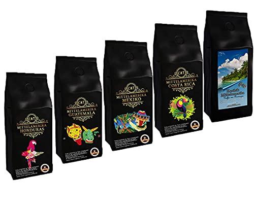 Länder Kaffee Geschenk Set