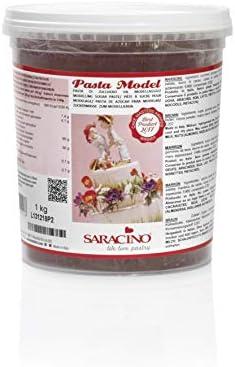 Saracino Sugar Paste Model White Modelling Paste 1 kg Gluten Free Made in Italy