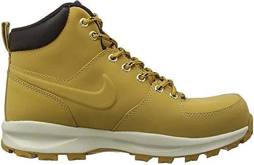NIKE Men's Manoa Leather Boot, Haystack/Haystack/Velvet Brown, 9 D(M) US