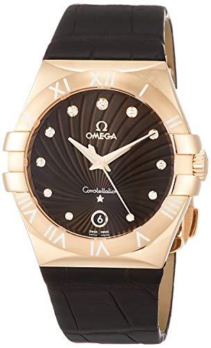 [オメガ] 腕時計 Constellation ブラウン文字盤 ダイヤモンド 123.53.35.60.63.001 レディース 並行輸入品 ブラウン