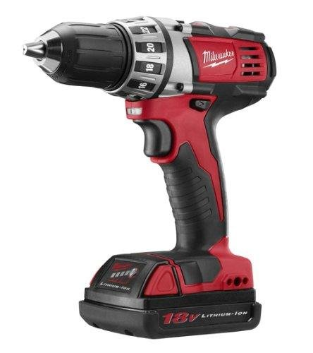 Milwaukee 2601-22 18-volt Li-ion Compact Drill Kit -