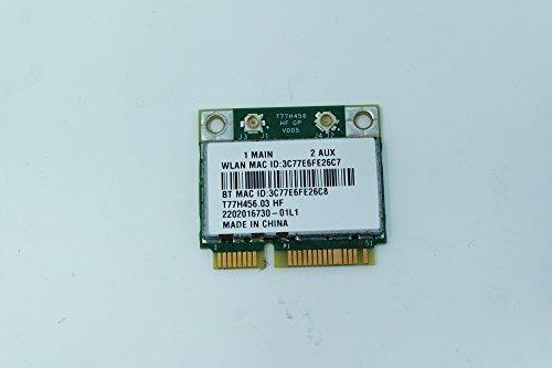 COMPRO PC Wireless Combo Bluetooth Netzwerkkarte für Acer Aspire ES1-411 BROADCOM BCM943142HM