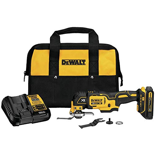 DEWALT DCS355C1 20V Max XR Brushless Oscillating Tool Kit