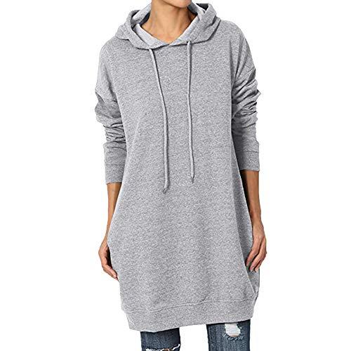 Felpe Oversize da Donna con Cappuccio a Maniche Lunghe Loose Casual Pullover Cute Hooded Felpe da...