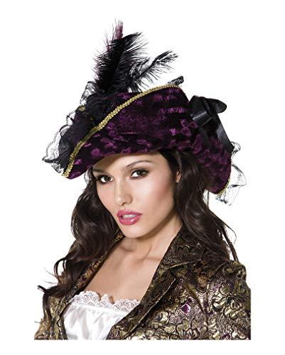 Sombrero de pirata para mujer.