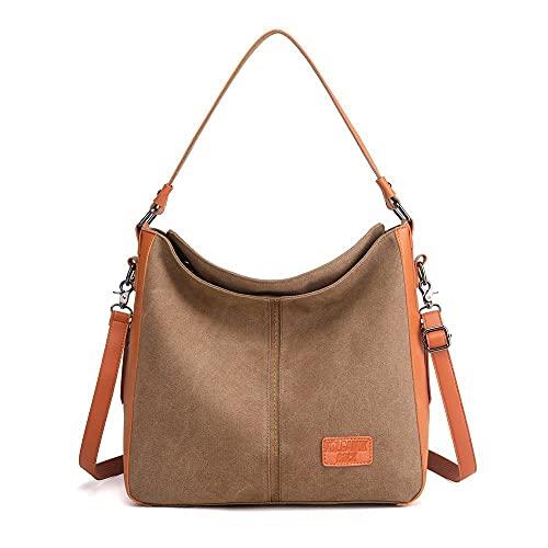 Canvas Tote Bag for Women Large Shoulder Bags Crossbody Bags Hobo Bag for...